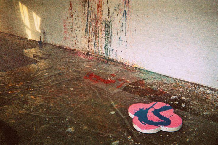 Max Gimblett's Studio, NYC 2015