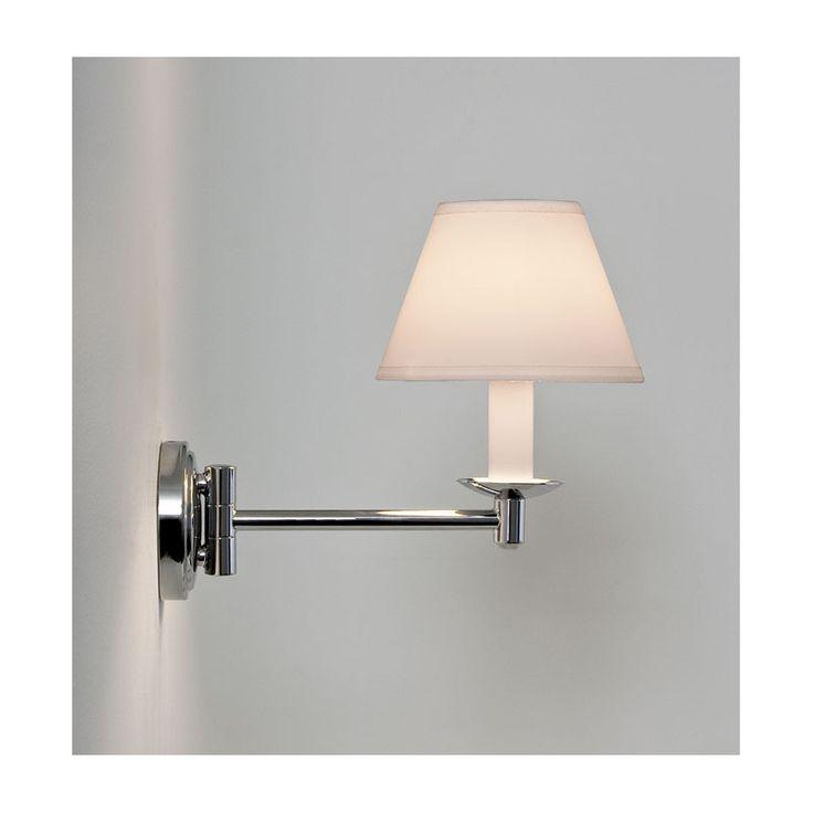 Astro Lighting Adjustable Arm Bathroom Wall Light With Shade From  Www.netlighting.co.