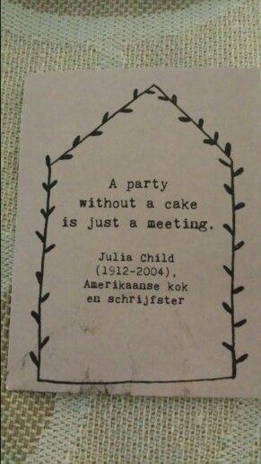 Elke dag een plakje cake
