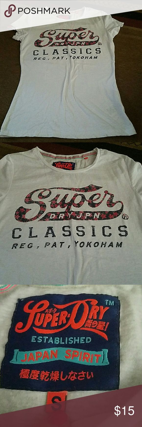 Like new superdry tee shirt Like new superdry Japan t-shirt size small Superdry Tops