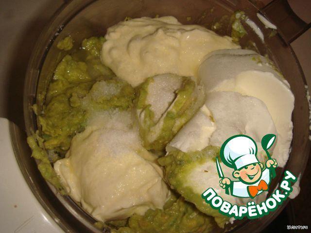 Мусс из авокадо ингредиенты
