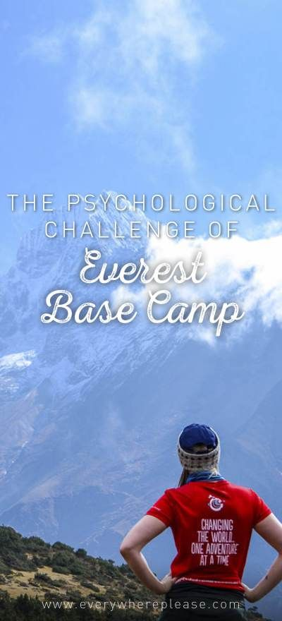 What to expect on the Everest Base Camp trek | Everything you need to know before trekking to Everest Base Camp| Nepal trekking | Everest Base Camp preparation | Everest Base Camp psychological challenge