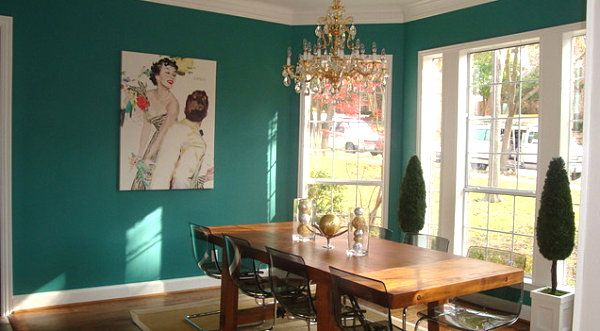 25+ Best Ideas About Teal Dining Rooms On Pinterest