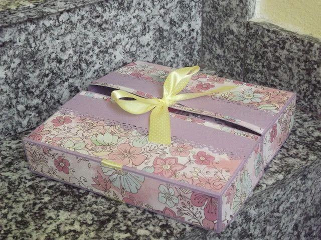 Ricordi di Carta- Gift box con tutorial