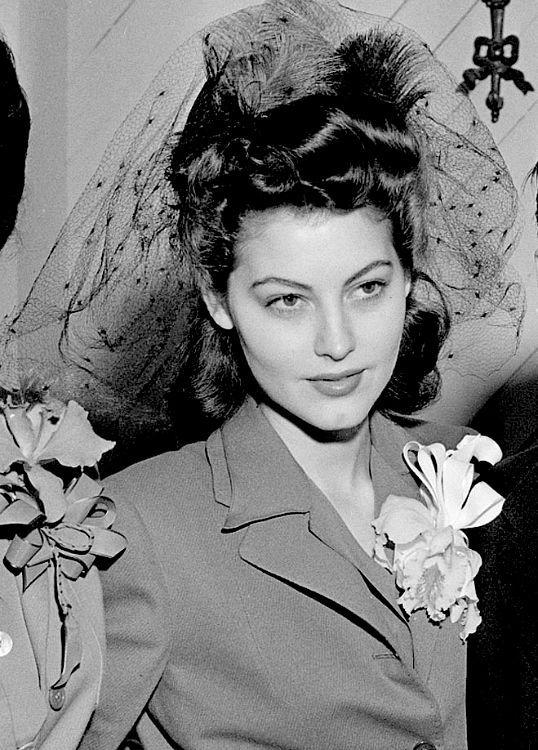 """maggiepollitts: """""""" Ava Gardner, 1942. """" """""""