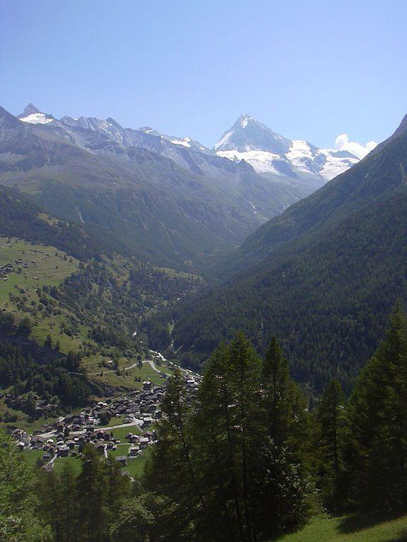 Valais | Val d'Hérens | Evolène jusqu'aux Haudères