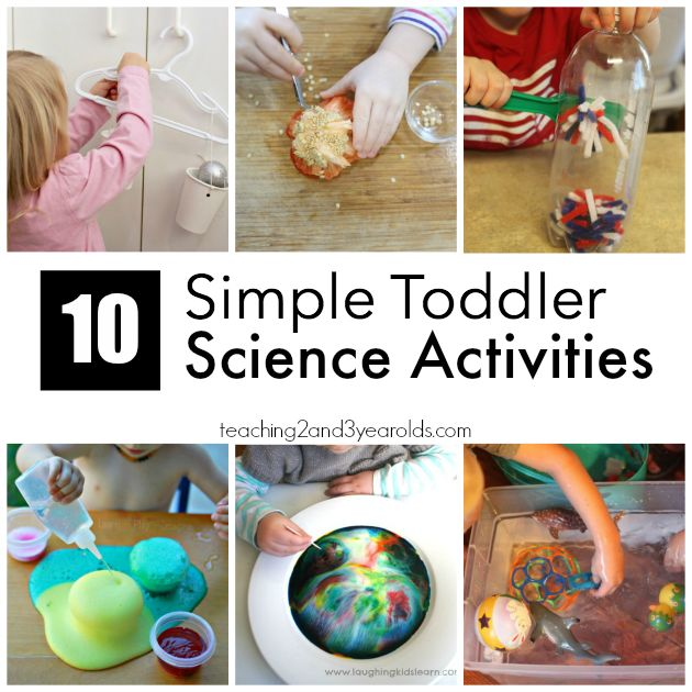 10 Easy Science Activities for Toddlers