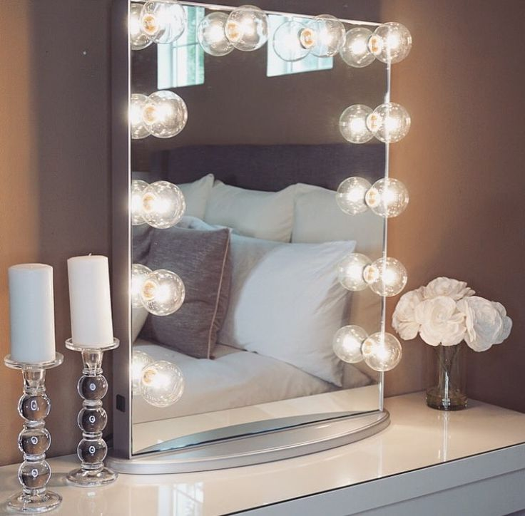 Lighted Vanity Mirror With Storage : 397 best images about Makeup Storage/Vanities on Pinterest Makeup storage, Make up storage and ...