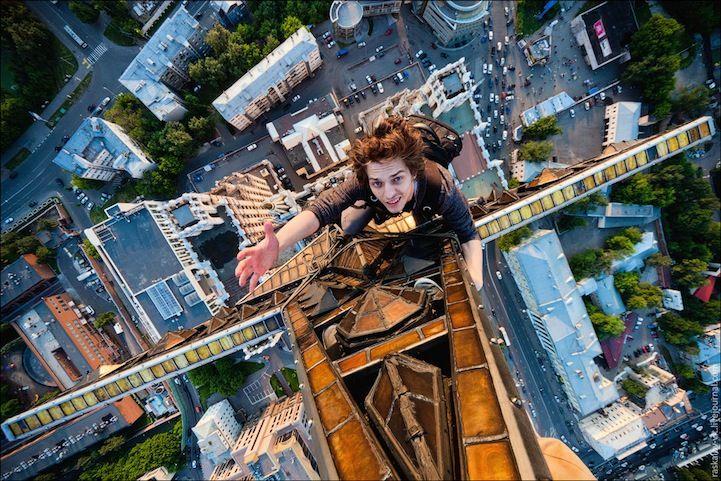 IXOUSART: Locas y atrevidas Fotografías de altura
