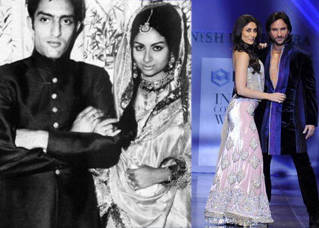 Kareena To Wear Sharmila Tagores Bridal Sharara At Her Wedding