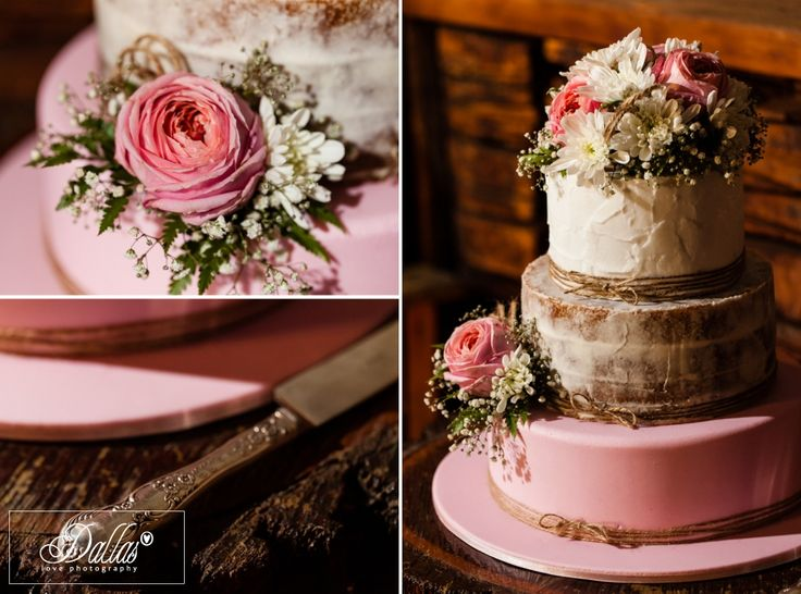 Rustic wedding cake with roses http://dallaslovephotography.com/?p=13657 Adora Downs, Australia