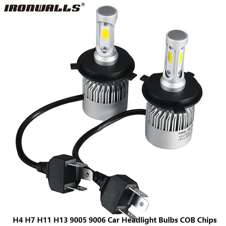 Ironwalls Led H4 H7 H11 H13 9005 9006 Car Headlight Bulbs COB Chips 72W 8000LM 6500K Hi-Lo Beam Led Headlight Auto Lamp DC12/24V <3 Detailed information can be found by clicking on the VISIT button