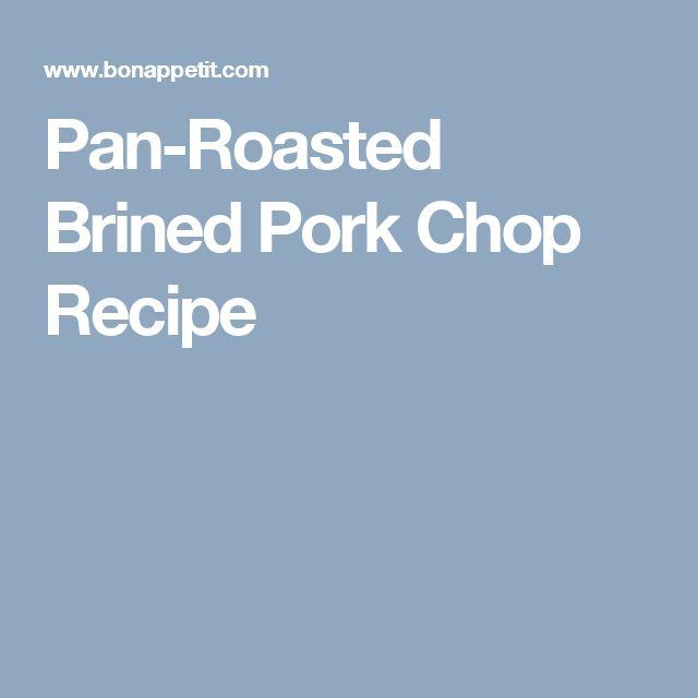 Saratoga pork chop recipes