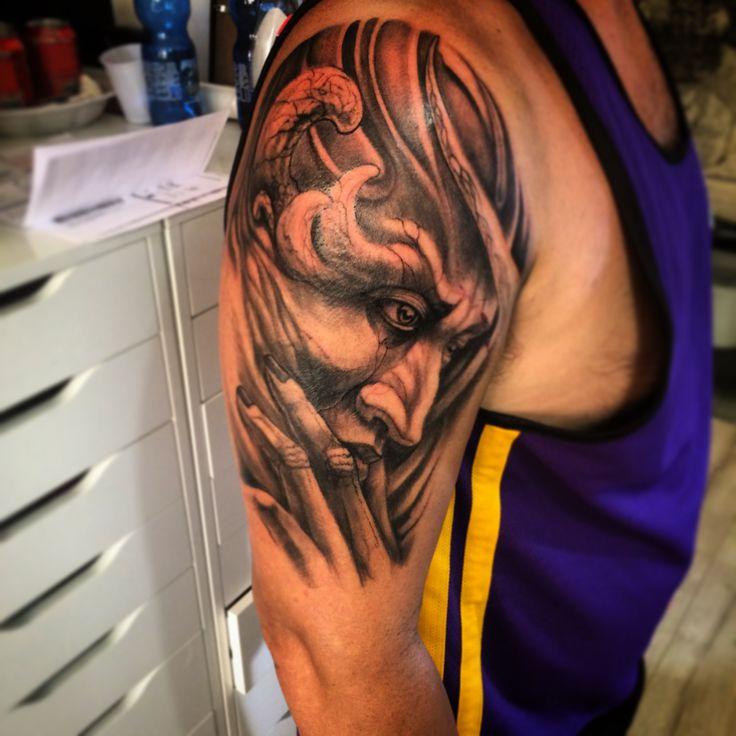 Freehand sleeve... Work in progress