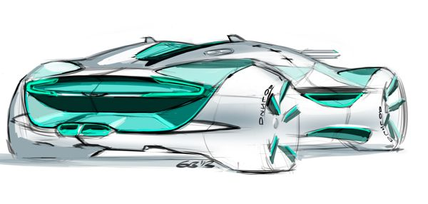 Cardesign sketches #1 by Grigory Butin, via Behance