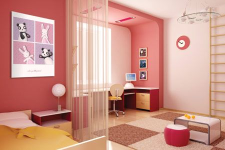 Color de la semana: Rosa juvenil   Interiores3de - Decoracion de Interiores