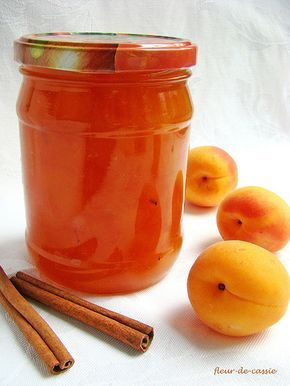 джем абрикосовый с лимоном и корицей
