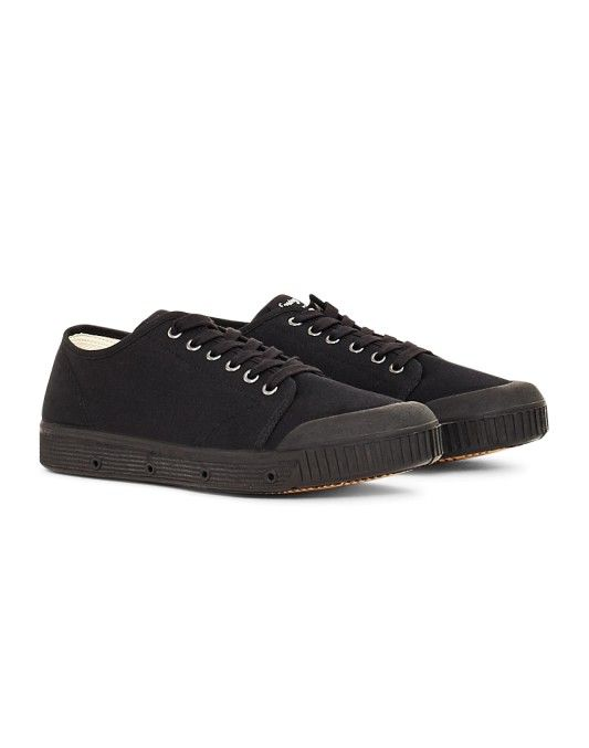 Spring Court G2 Canvas Plimsolls Black | New In at The Idle Man | Shop now! | #StyleMadeEasy