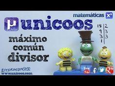 MCD Maximo comun divisor con descomposicion factorial 1ºESO unicoos matematicas - YouTube