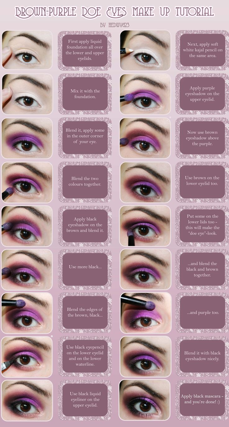 Information about makeup tutorial for big brown eyes at dfemale.com, beauty and styles blog for women.