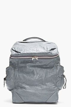 ALEXANDER WANG Steel Blue Leather Backpack on shopstyle.com