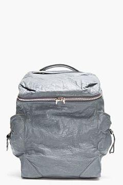 ALEXANDER WANG Steel Blue Leather Backpack on shopstyle.com