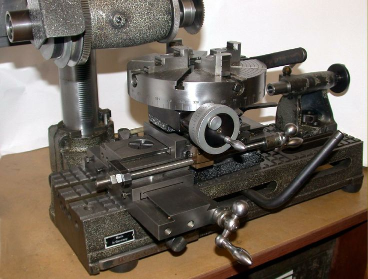 German Hommel Uwg Lathe With Many Accessories Available