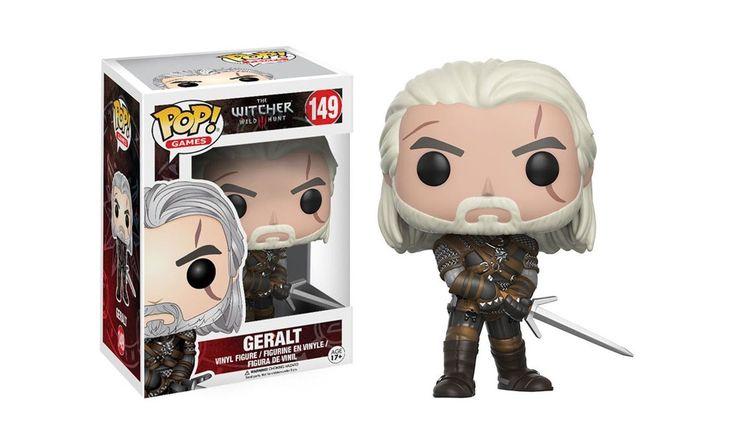 Geralt z Rivii. Maszyna do zabijania potworów. W swojej ręce dzierży srebrny miecz. Należy do wyjątkowej kolekcji wraz z Ciri, Triss i Yennefer. #TheWitcher #Funko