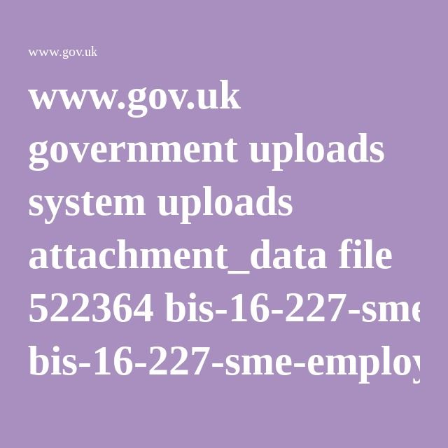 www.gov.uk government uploads system uploads attachment_data file 522364 bis-16-227-sme-employer-report.pdf