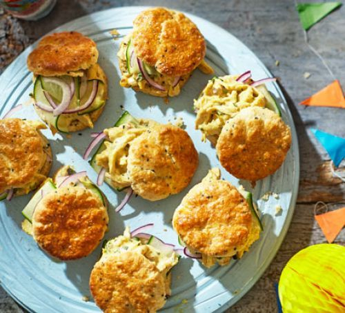 Wedding Finger Food Recipes: Coronation Chicken Scones