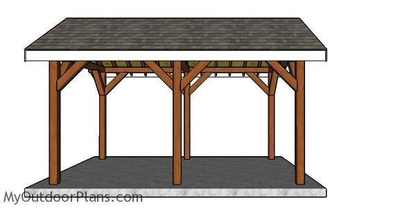 10x16 Pavilion Plans Myoutdoorplans Free Woodworking Plans And Projects Diy Shed Wooden Playhouse Pergola Bbq Pavilion Plans Wooden Playhouse Pergola