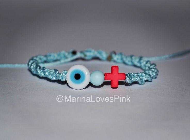A personal favourite from my Etsy shop https://www.etsy.com/listing/528695229/martyrika-evil-eye-and-cross-greek