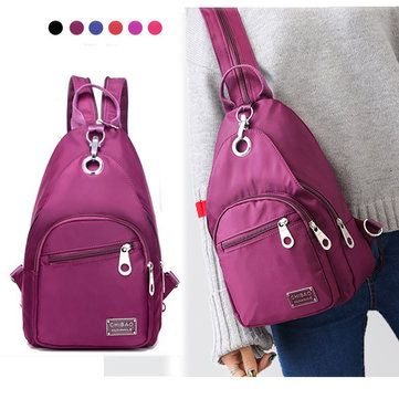 Women Nylon Light Multifunction Chest Bags Outdoor Crossbody Bags Girls School Backpack //Price: $35.68 & FREE Shipping //     #handbagwithbow  #handbagwithcompartments  #handbagwithoutsidepockets  #handbagwithwheels  #handbagsale  #handbagyellow  #handbagforsale  #handbagfo women  #backpackonsale  #backpackbestprice  #backpackcheap  #backpackforwomen  #crossbodybag  #crossbodybagtobuy  #crossbodybagreviews  #mycrossbodybag