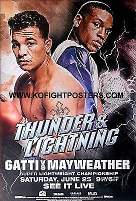Floyd #mayweather jr vs. arturo gatti / #original 'top rank' boxing #poster,  View more on the LINK: 	http://www.zeppy.io/product/gb/2/131645039883/