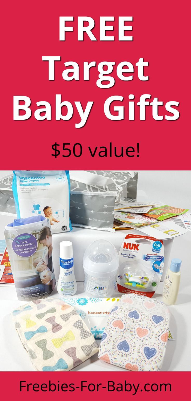 FREE Target Baby Registry Gift Bag 50 value! Target