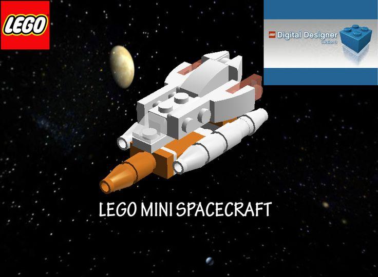 Lego mini Spacecraft