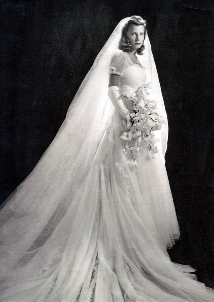 Anne McDonnell married Henry Ford II in 1940 and divorced in 1964 (she married Deane F. Johnson in 1968). Henry married two more times. The Fords had three children: Charlotte, Anne, and Edsel Ford II. Via Chic Vintage Brides.