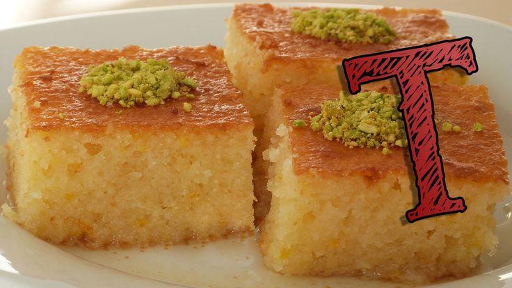 Basbousa Recipe   How to Make Revani