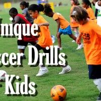 Soccer Drills - 6 Unique Soccer Drills For Kids | Progressive Soccer Training