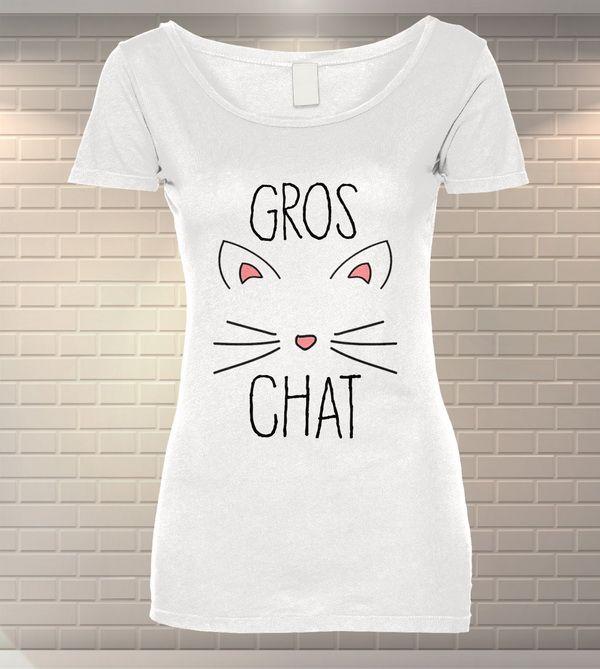 Tricou Dama Personalizat Gros Chat   Tipar Digital   MeraPrint.ro   Va punem la dispozitie o gama variata de produse personalizate la cele mai mici preturi!