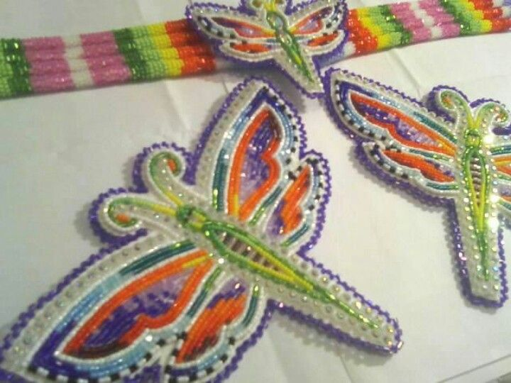 Beautiful dragonflies