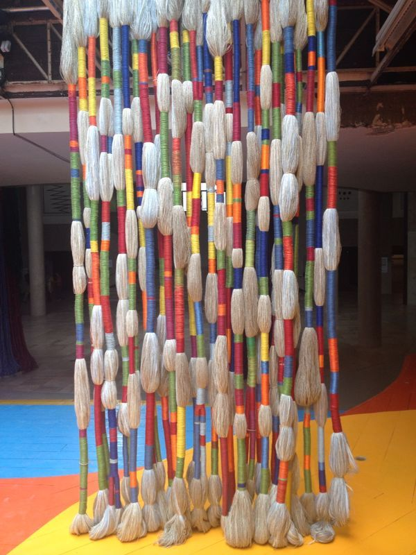 Sheila Hicks, contemporary fiber artist