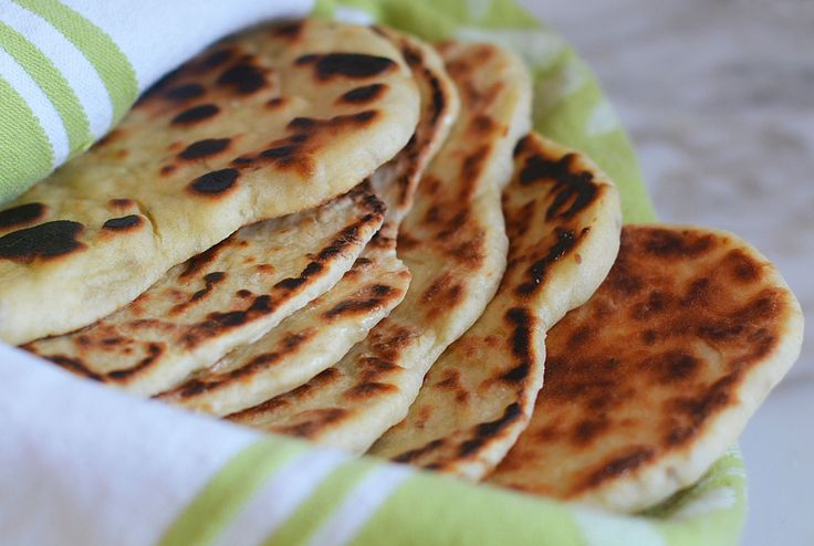 TESTED & PERFECTED RECIPE - Delicious, soft and pillowy homemade naan without a tandoor oven.
