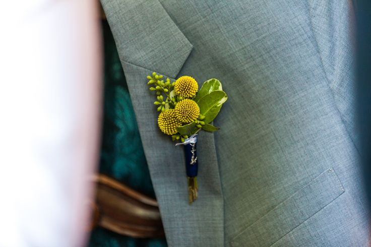 Nautical Boutonniere. #florist #wedding #boutonniere