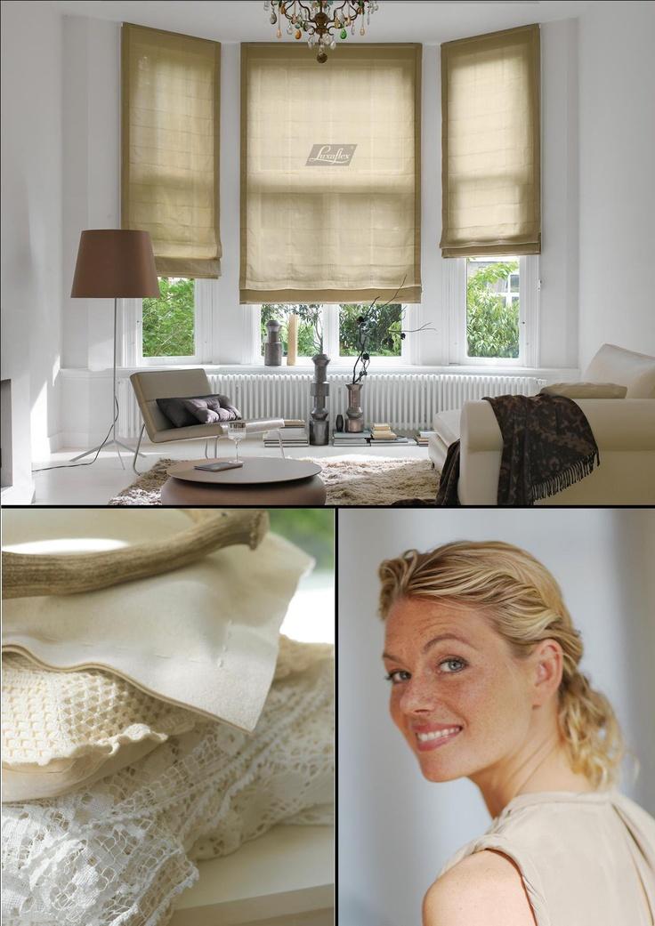 Romantisch. Ga voor een knusse inrichting met zacht textiel, warme stoffen, natuurlijke groentinten en zandkleuren.