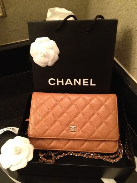 Ella Pretty: My Beige Quilted Chanel WOC !