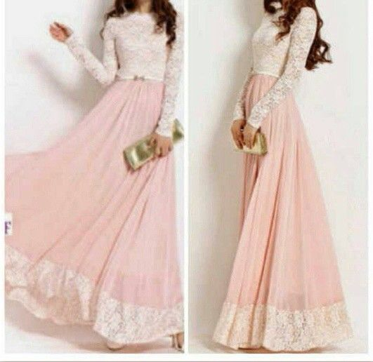 Soft pink for party :)