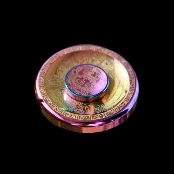 Fidget Spinner UFO Aztek //Cena: $65.00 & Zawsze darmowa dostawa! //     #Spinnery