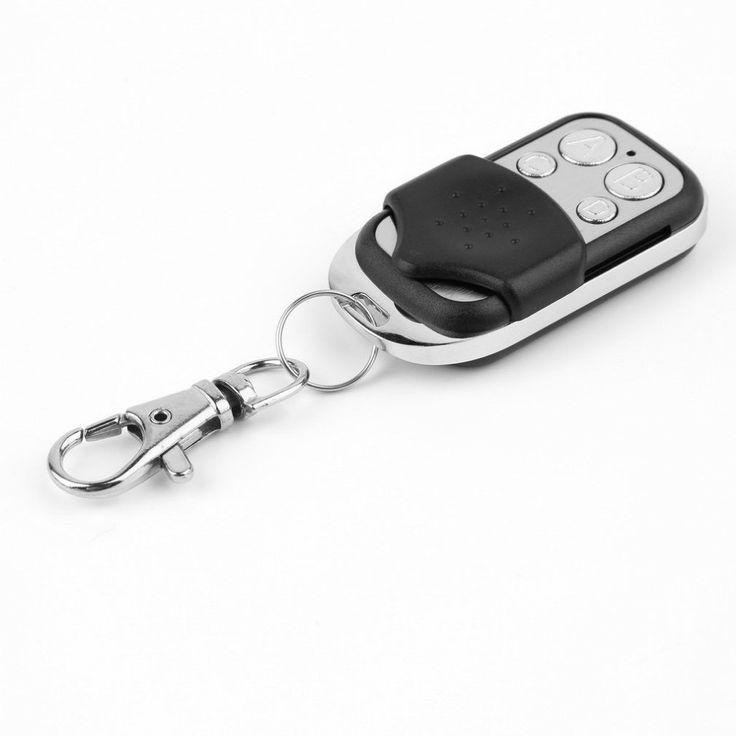 Newest 433mhz Worldwide Gate Garage Electric Cloning Door Remote Control Fob Key Fob Universal Car Key mando garaje distancia