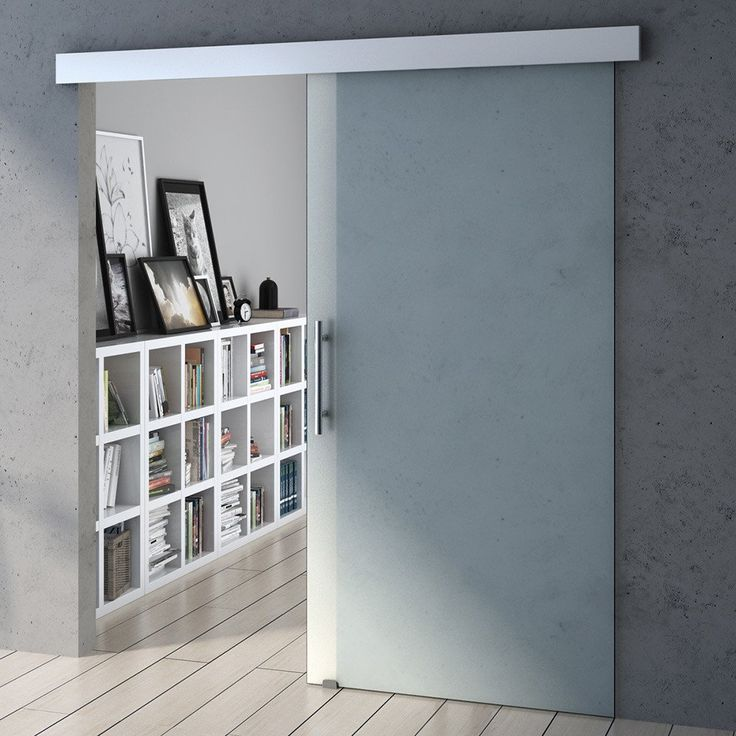 Amalfi Sliding Glass Door Soft Close-Fully Frosted
